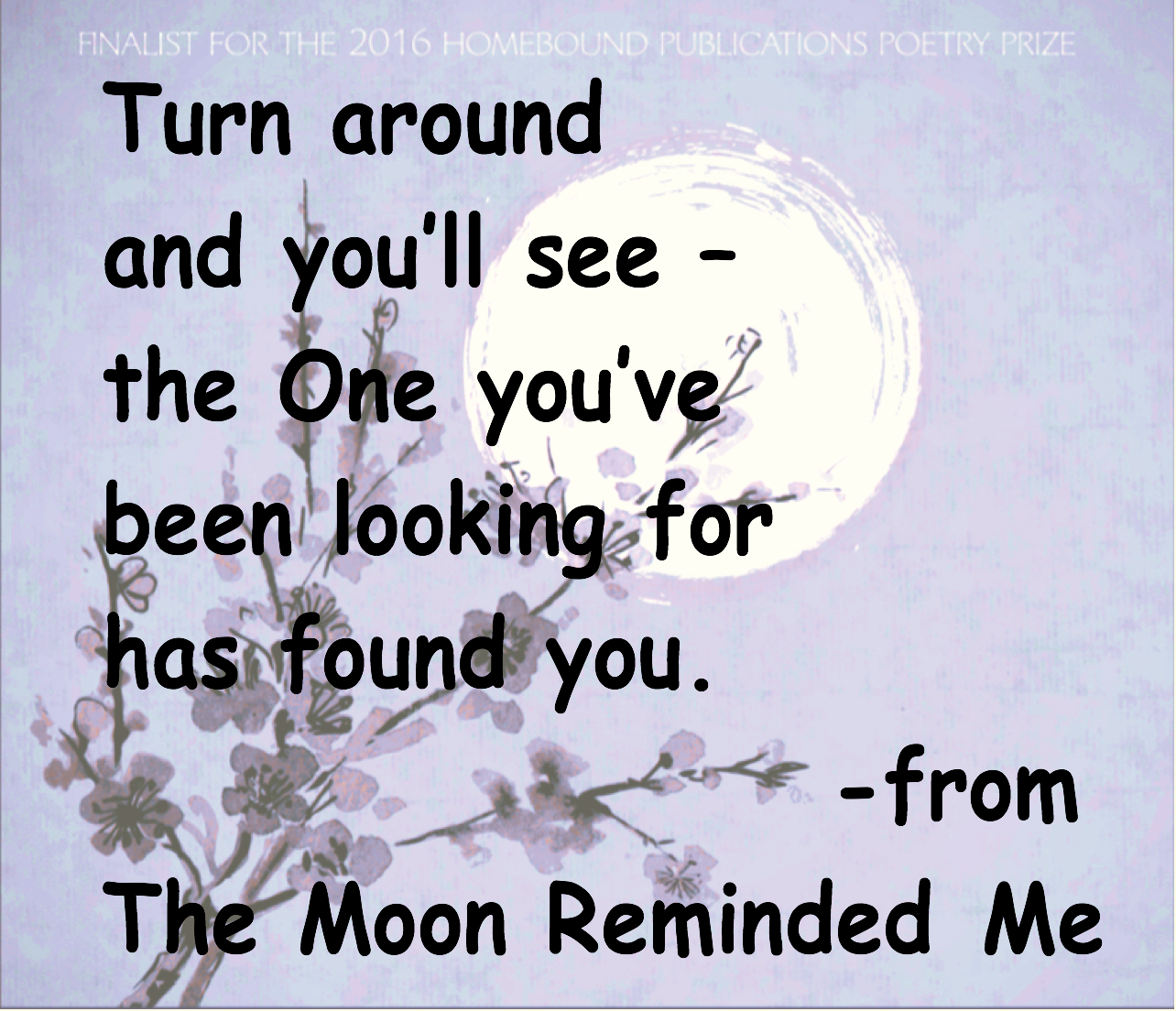 moon reminded me quote