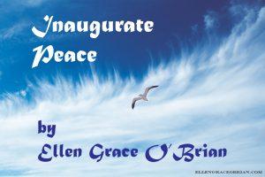 inaugurate peace flying bird