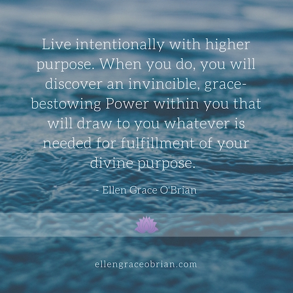 Be Intentional quote