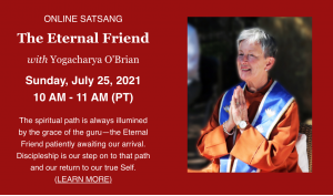 The Eternal Friend with Yogacharya o'brain