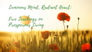 teachings on prosperous living