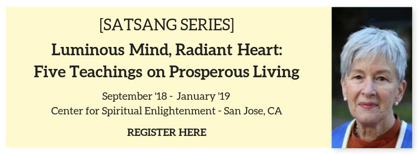 prosperous living satsang
