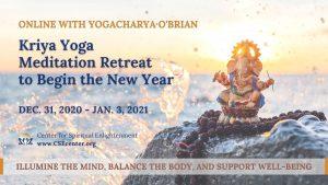 kriya yoga meditation retreat