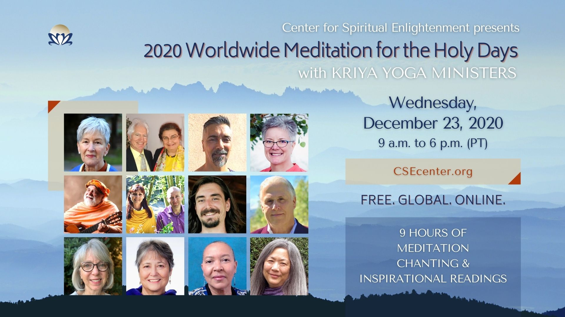 Meditation for the holy days