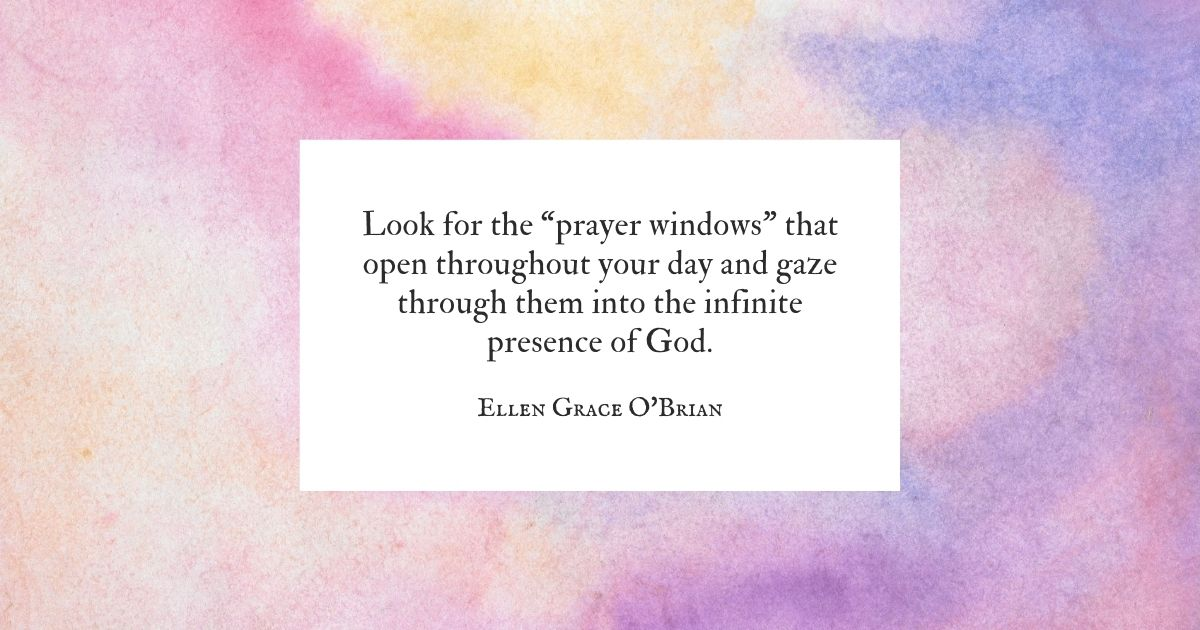 prayer window