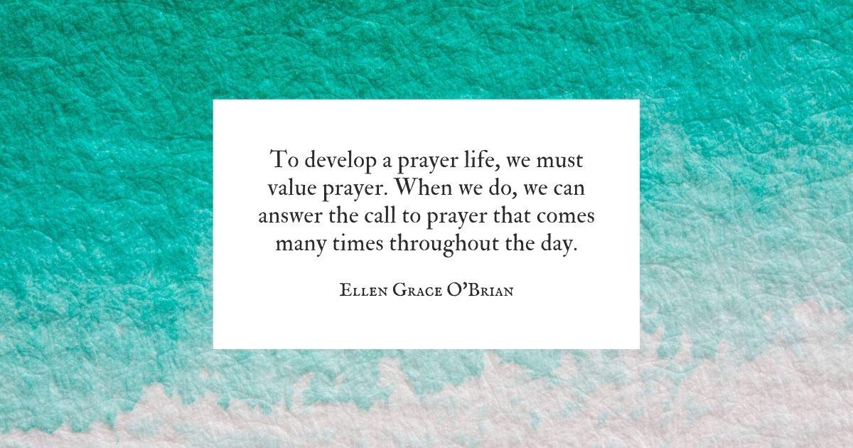 A Prayer Life
