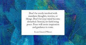 Let Faith Bring Peace