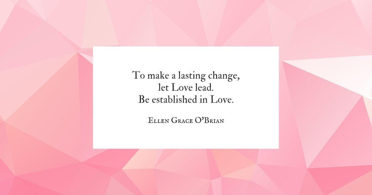 Let Love Lead