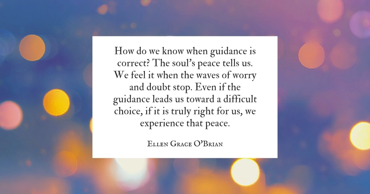Inner Guidance Speaks