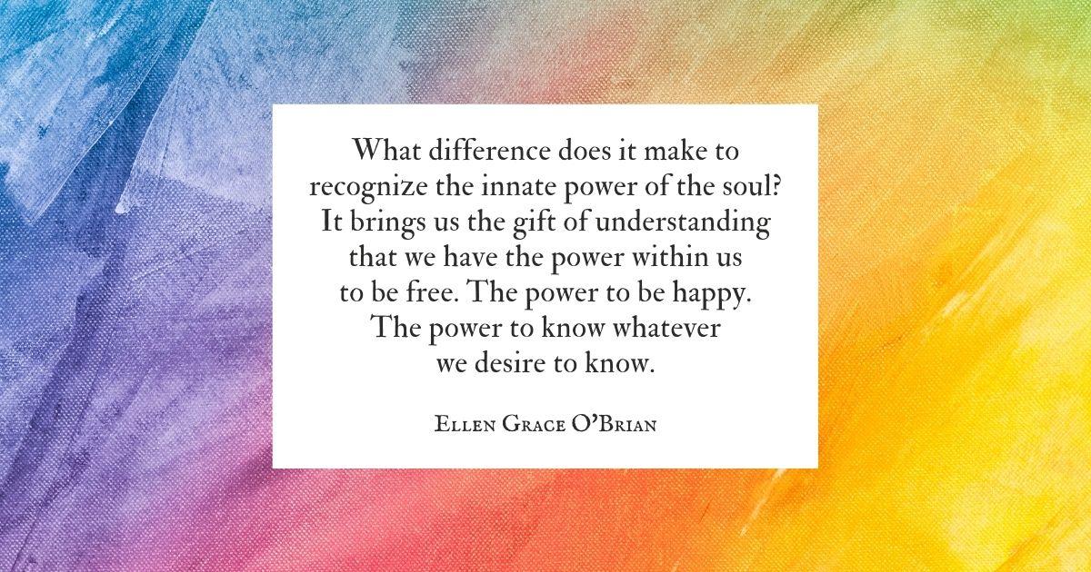 Innate Power of the Soul
