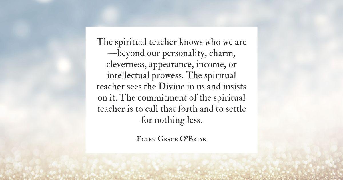 The Role of a Spiritual Teacher