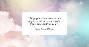 The Purpose of the Teacher