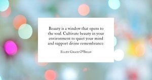 Cultivate Beauty quote