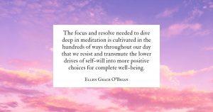 Deep Meditation Tools quote