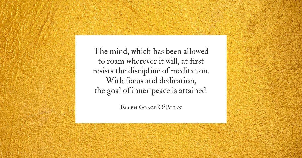 Disciplined Mind quote
