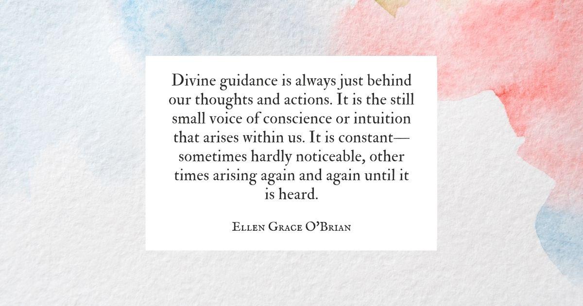 Divine Guidance quote