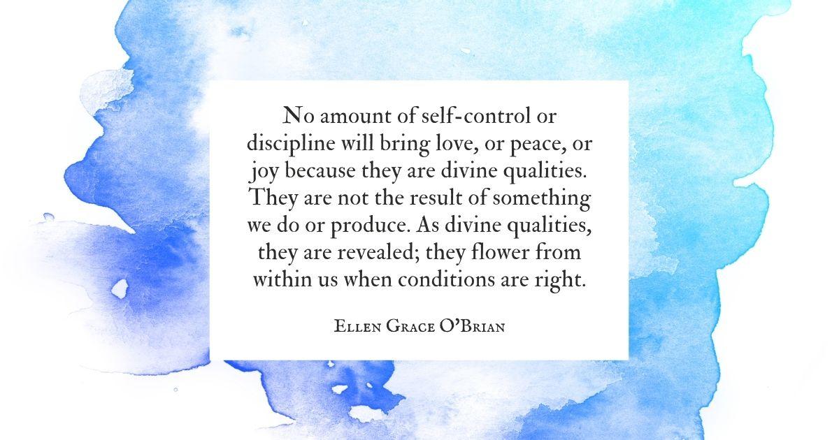 Divine Qualities quote