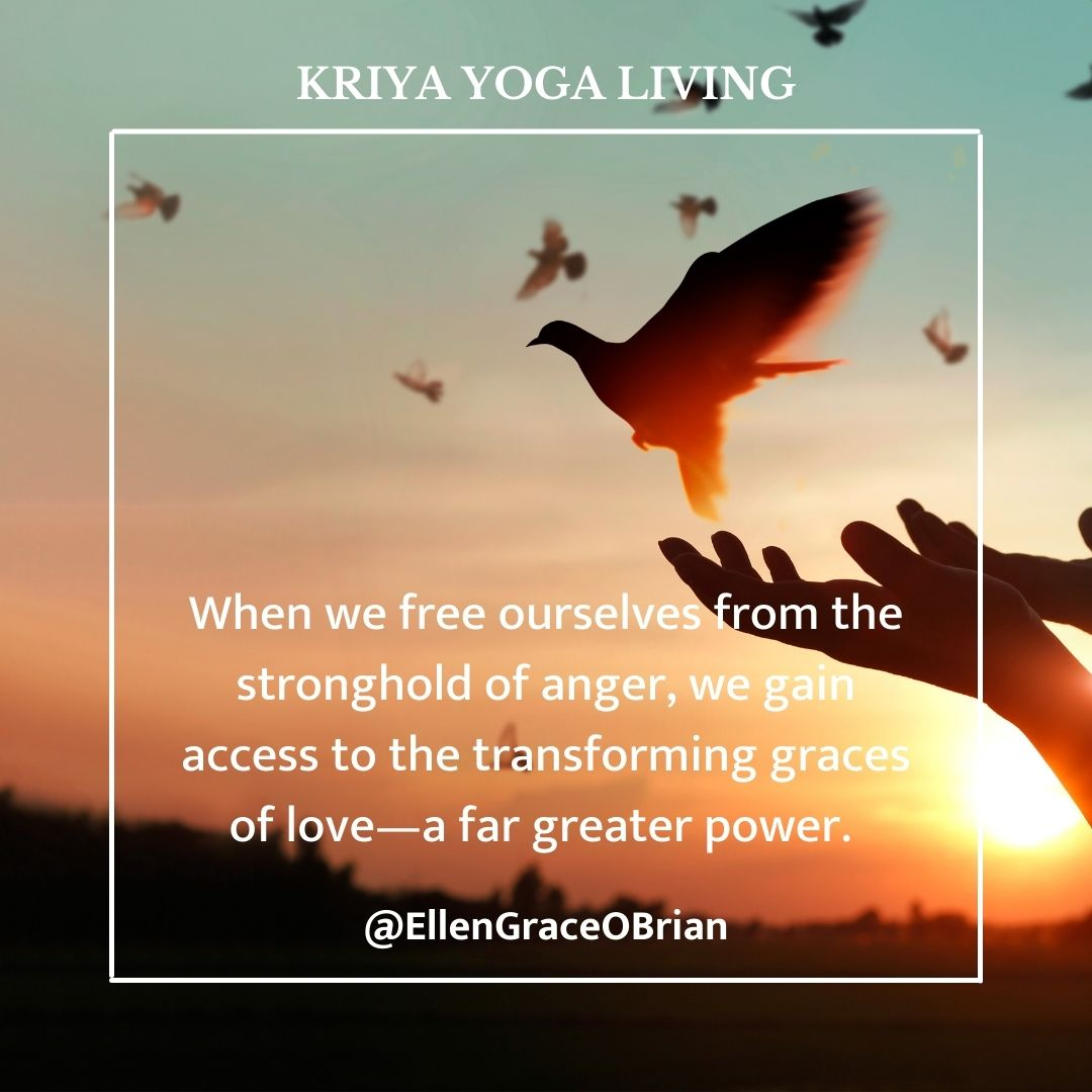 kriya yoga freedom fron anger