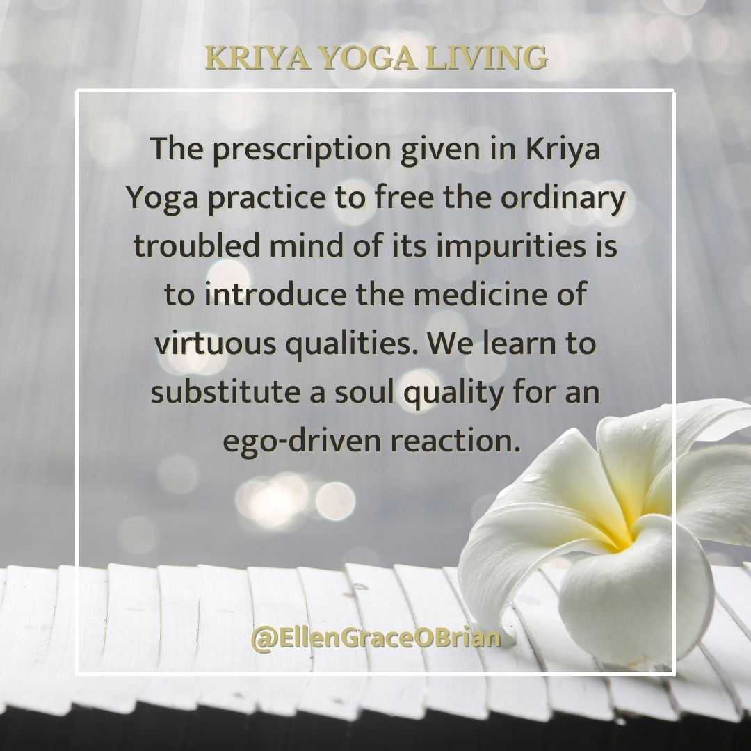 kriya yoga freedom from anger