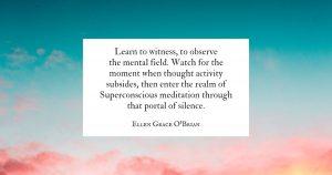 Superconscious Meditation quote