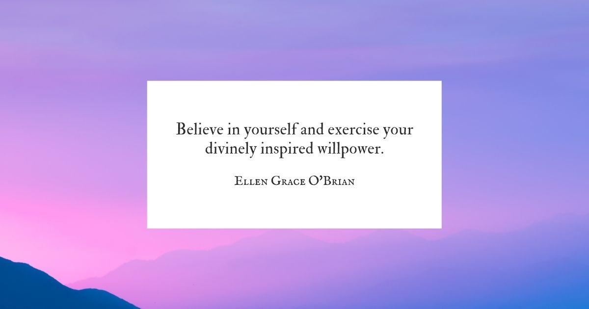 Willpower quote