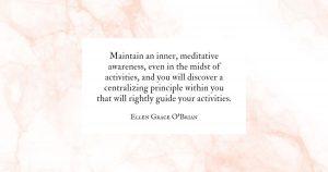 meditative awareness quote