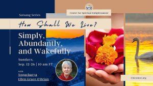 How Shall we live - simply abundantly